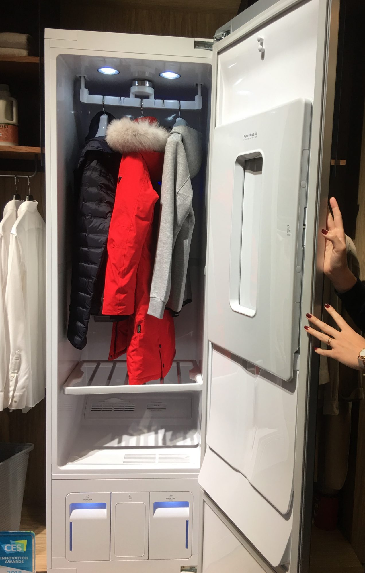 lg at dryer paramus showroom in and pin steam loading tromm front pinterest jersey washer closet pirch styler turbowash new