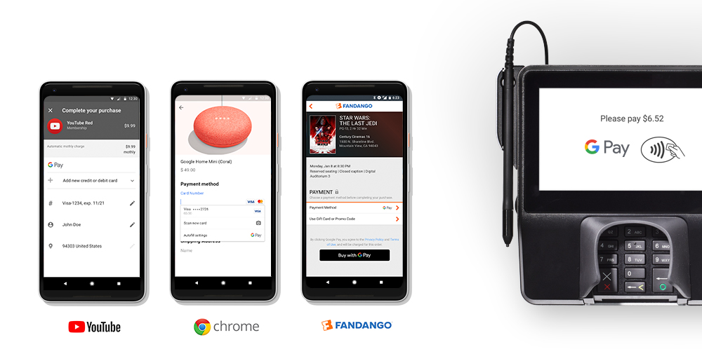 Android Pay, Google Wallet, merge into single brand: Google