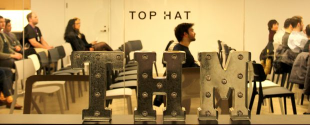 Top Hat HQ - logo feature