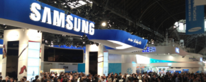 Samsung booth MWC 2018