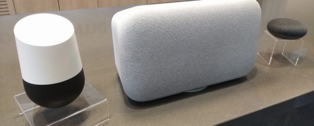Google Home device family