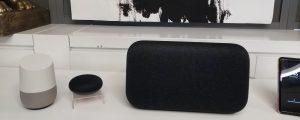 Google Home speakers music