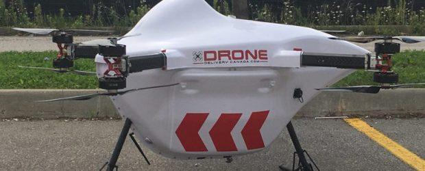 Drone Delivery Canada Robin