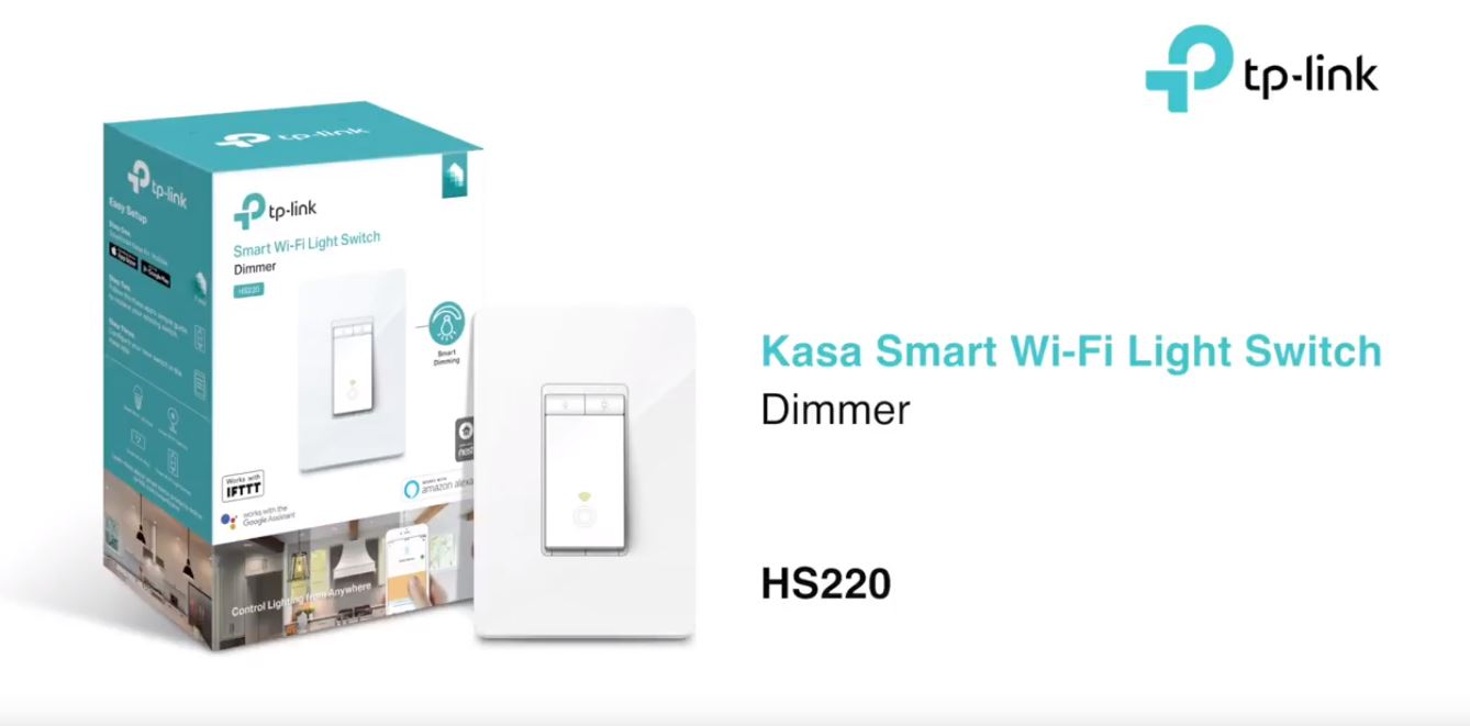 Installing and using the TP-Link HS220 dimmable switch | IT