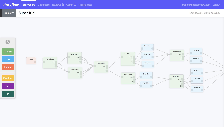 Storyflow - creator tool 2