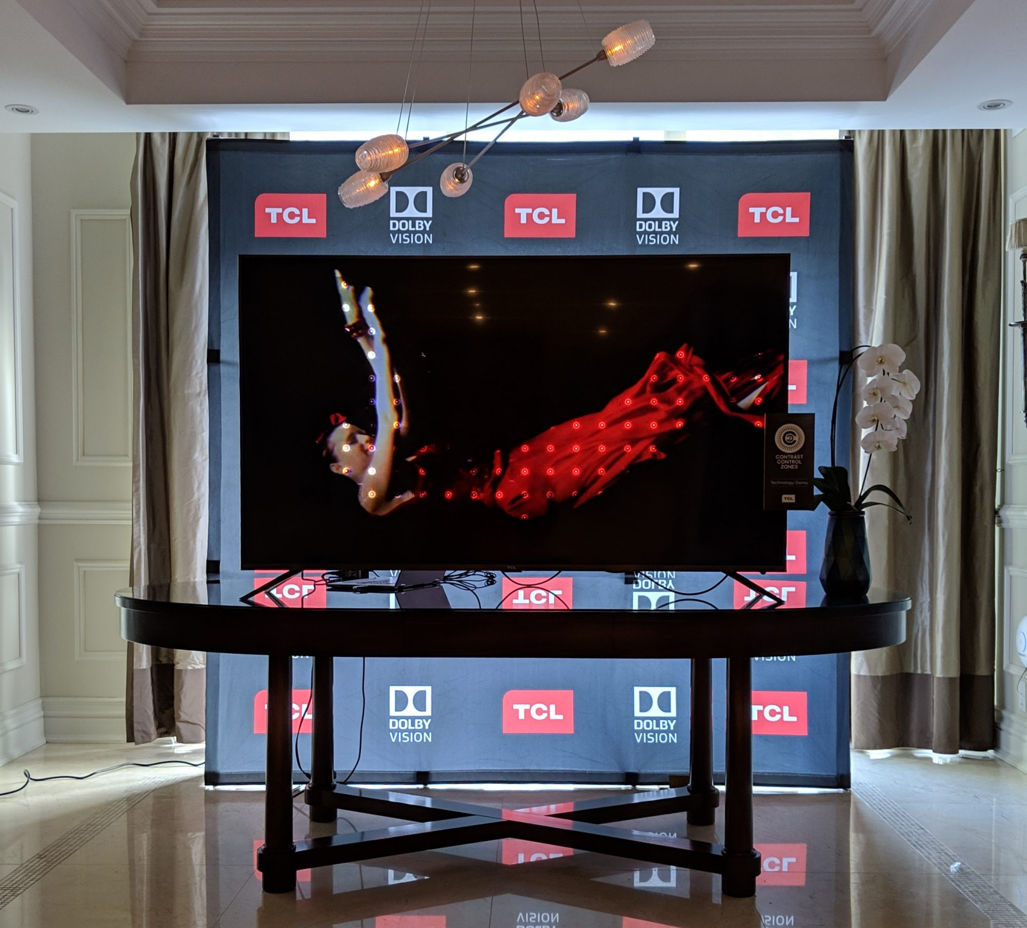 Tcl Brings Its Hdr Smart Tvs To Canada It Business Contrast Control For Lcds Each White Spot Is A Zone