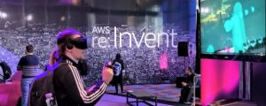 AWS Reinvent feature VR