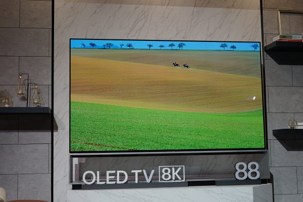 LG 8K OLED TV at CES 2019