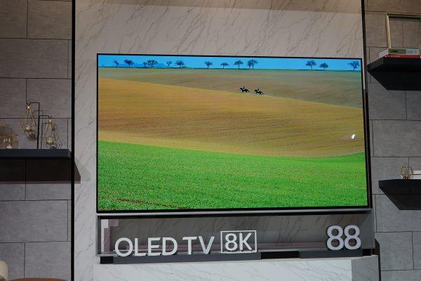 LG 8K OLED TV at CES 2019