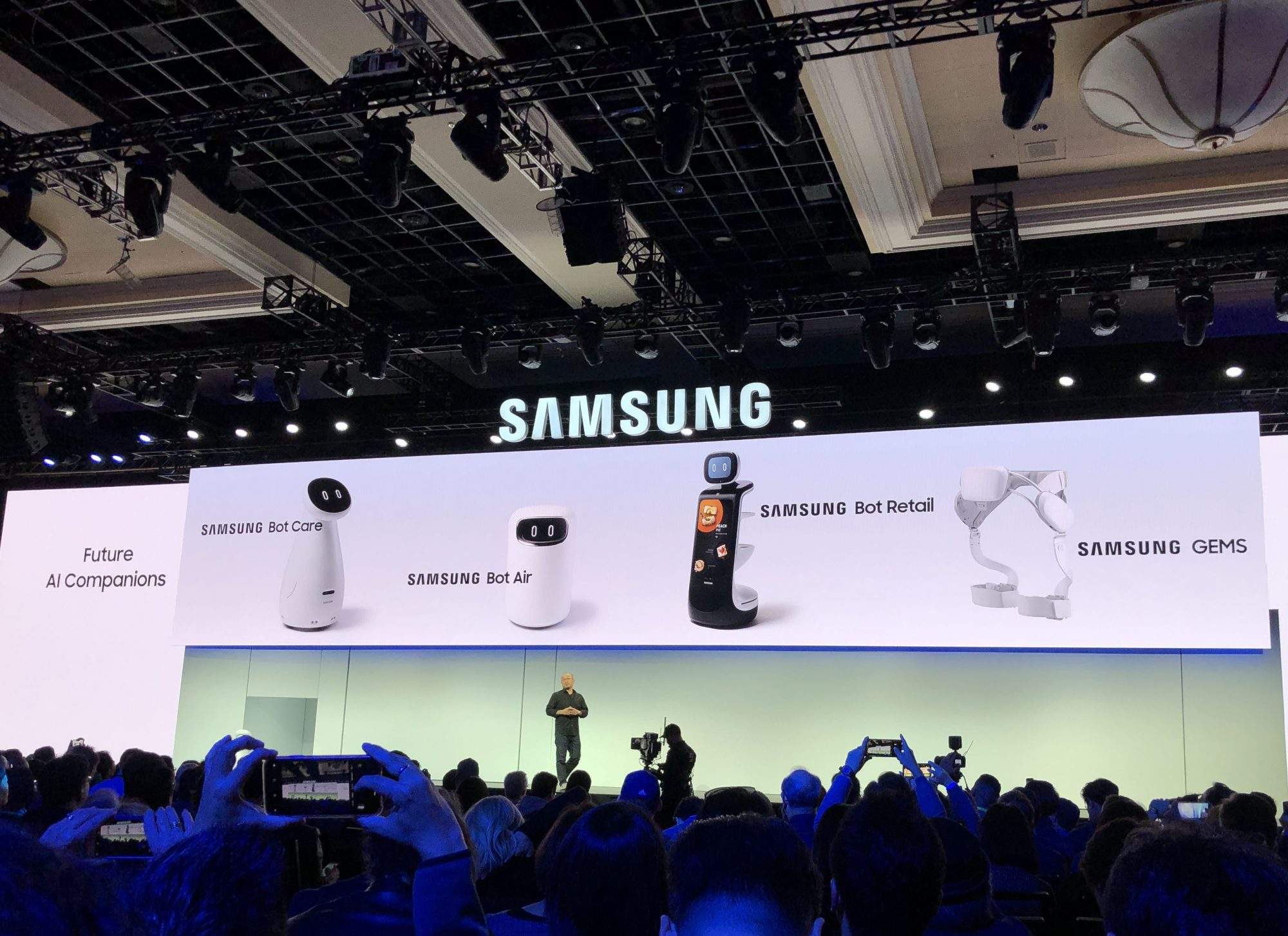 Samsung's Bots Showcased at CES 2019