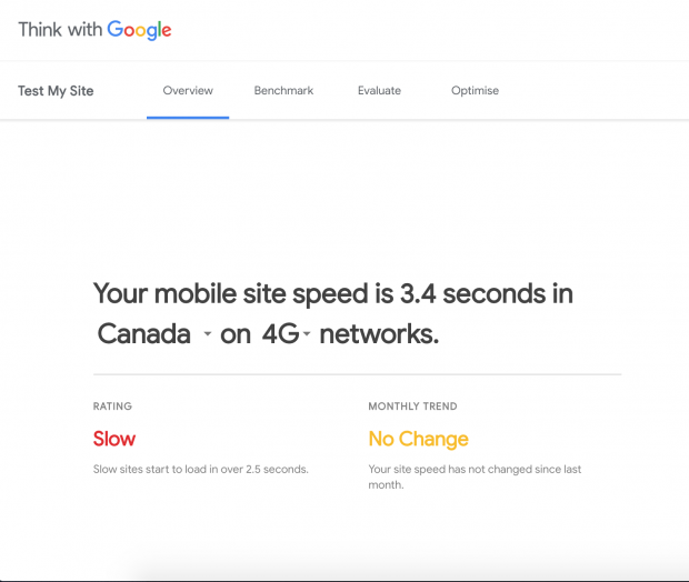 Google relaunches Test My Site, its mobile web page speed