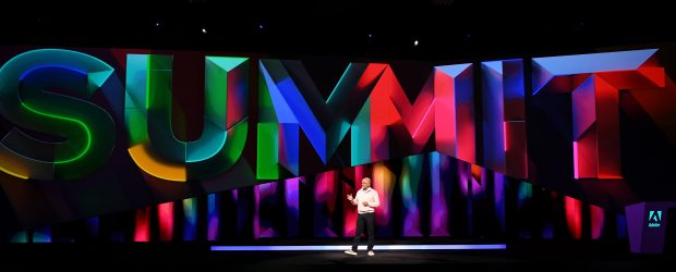 Adobe CEO, Shantanu Narayen, kicks off Adobe Summit, The Digital Experience Conference, with more than 16,000 attendees in Las Vegas on Tuesday, March 26, 2019.