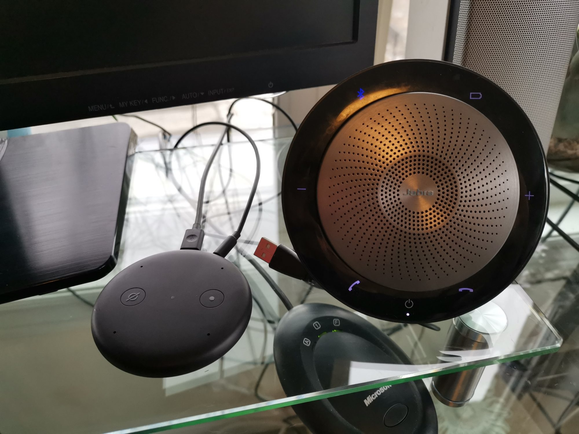 Echo Input and Jabra Speak 710 - Bluetooth connection
