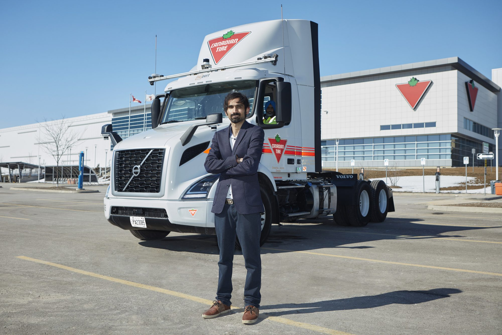 Canadian Tire, Toronto startup and Ontario government invest $3 million in automated trucking tech thumbnail
