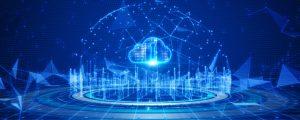 Photo depicting cloud security