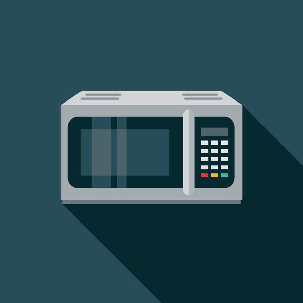 Illustration of microwave